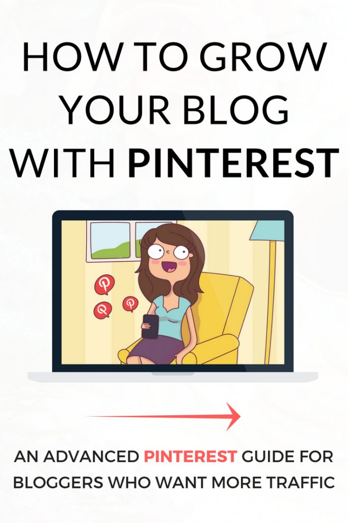 A Pinterest Ebook containing strategies for growing your blog traffic using Pinterest